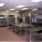 This is a picture of the kitchen at the Dyersburg Dyer County Chamber of Commerce in Dyersburg, TN 38024.